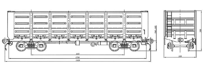 Характеристика вагона транспортер транспортер тсн 160 устройство